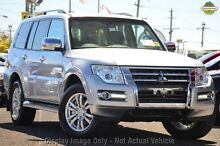 2016 Mitsubishi Pajero NX MY16 GLS LWB (4x4) Sterling Silver 5 Speed Auto Sports Mode Wagon Wilson Canning Area Preview