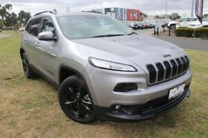 2015 Jeep Cherokee KL MY15 Blackhawk Silver 9 Speed Sports Automatic Wagon Hallam Casey Area Preview