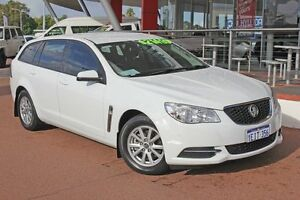 2013 Holden Commodore VF Evoke White 6 Speed Automatic Sportswagon Myaree Melville Area Preview