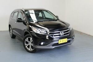 2012 Honda CR-V RM VTi-L 4WD Crystal Black 5 Speed Automatic Wagon Hamilton East Newcastle Area Preview