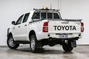 2014 Toyota Hilux KUN26R MY14 SR Double Cab Na 5 Speed Automatic Cab Chassis