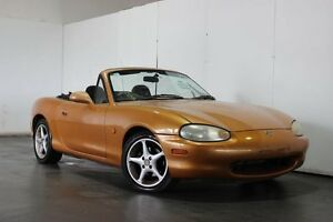 1998 Mazda MX-5 NB Gold 5 Speed Manual Convertible Underwood Logan Area Preview
