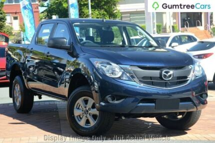 2017 Mazda BT-50 UR0YG1 XT Blue 6 Speed Sports Automatic Utility Aspley Brisbane North East Preview
