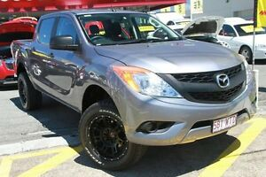2011 Mazda BT-50 UP0YF1 XT Grey 6 Speed Sports Automatic Utility Springwood Logan Area Preview