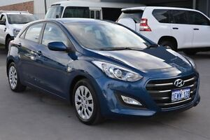 2015 Hyundai i30 GD MY14 Active Blue 6 Speed Automatic Hatchback Welshpool Canning Area Preview