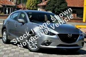2016 Mazda 3 BM5478 Maxx SKYACTIV-Drive Silver 6 Speed Sports Automatic Hatchback Edwardstown Marion Area Preview