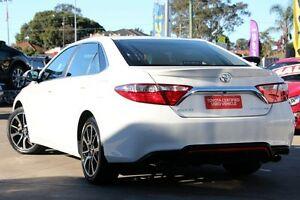 2017 Toyota Camry ASV50R Atara SX Diamond White 6 Speed Sports Automatic Sedan