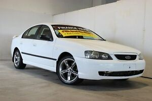 2008 Ford Falcon BF Mk III XT White 4 Speed Sports Automatic Wagon Underwood Logan Area Preview