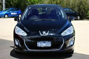 2012 Peugeot 308 T7 MY12 Access Black 4 Speed Sports Automatic Hatchback Seaford Frankston Area Preview