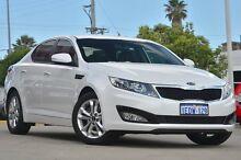 2012 Kia Optima TF MY13 SI White 6 Speed Automatic Sedan Victoria Park Victoria Park Area Preview