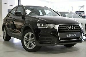 2015 Audi Q3 8U MY16 TFSI S tronic Black 6 Speed Sports Automatic Dual Clutch Wagon North Melbourne Melbourne City Preview