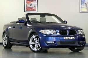 2008 BMW 125I E88 Montego Blue 6 Speed Automatic Convertible North Willoughby Willoughby Area Preview