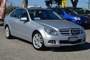 2009 Mercedes-Benz C200 Kompressor W204 Classic Silver 5 Speed Sports Automatic Sedan Pearsall Wanneroo Area Preview