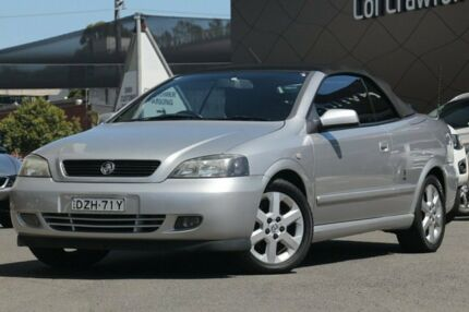 2002 Holden Astra TS Convertible Silver 4 Speed Automatic Convertible Brookvale Manly Area Preview