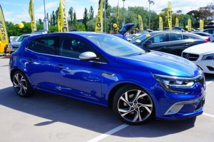 2016 Renault Megane BFB GT-Line EDC Blue 7 Speed Sports Automatic Dual Clutch Hatchback Pearce Woden Valley Preview
