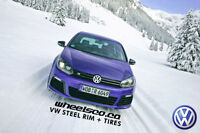 Volkswagen Winter package TIRES + RIMS ( JETTA GOLF PASSAT )