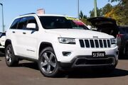 2014 Jeep Grand Cherokee WK MY15 Limited White 8 Speed Sports Automatic Wagon Gympie Gympie Area Preview