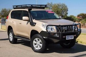2011 Toyota Landcruiser Prado KDJ150R GXL Gold 5 Speed Sports Automatic Wagon Mindarie Wanneroo Area Preview