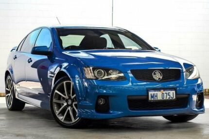 2011 Holden Commodore Ve Ii Ss V Blue 6 Speed Automatic Sedan Cars