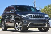 2014 Jeep Grand Cherokee WK MY14 Limited (4x4) Grey 8 Speed Automatic Wagon Victoria Park Victoria Park Area Preview