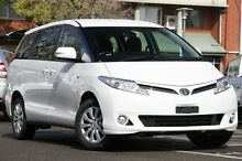 2013 Toyota Tarago ACR50R MY13 GLi Glacier White 7 Speed Constant Variable Wagon Adelaide CBD Adelaide City Preview