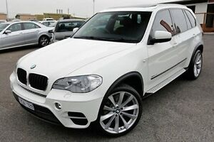 2012 BMW X5 E70 MY12.5 xDrive30d Steptronic White 8 Speed Sports Automatic Wagon Keysborough Greater Dandenong Preview
