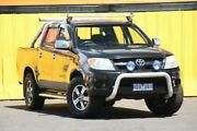 2006 Toyota Hilux GGN15R MY05 SR5 Black 5 Speed Manual Utility Heatherton Kingston Area Preview