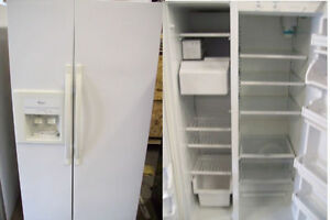 Refrigerators SXS White >>> Durham Appliances Ltd, since 1971 Kawartha Lakes Peterborough Area image 3
