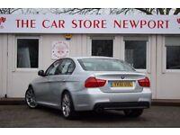 BMW 3 SERIES 2.0 320D M SPORT 4d 181 BHP (silver) 2011
