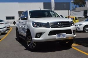 2016 Toyota Hilux GUN126R SR5 Double Cab White 6 Speed Sports Automatic Utility Claremont Nedlands Area Preview