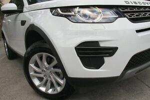 2016 Land Rover Discovery Sport LC MY17 TD4 150 SE 7 Seat White 9 Speed Automatic Wagon Petersham Marrickville Area Preview