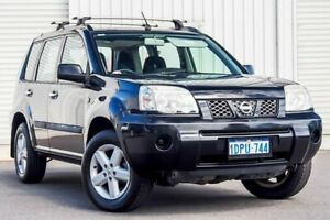 2007 Nissan X-Trail T30 II MY06 ST Black 4 Speed Automatic Wagon Osborne Park Stirling Area Preview