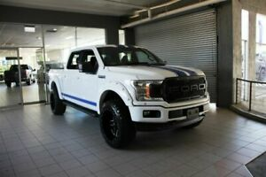 2019 Ford F150 SUPERCREW 145 Oxford White 10 SPEED AUTO 4 X 4 DOUBLE CAB UTILITY Thornleigh Hornsby Area Preview