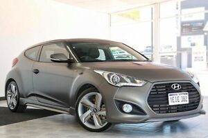 2012 Hyundai Veloster FS2 SR Coupe Turbo Grey 6 Speed Manual Hatchback Victoria Park Victoria Park Area Preview