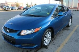 2012 Honda Civic Cpe EXL COUPE Accident Free,  Navigation (GPS),