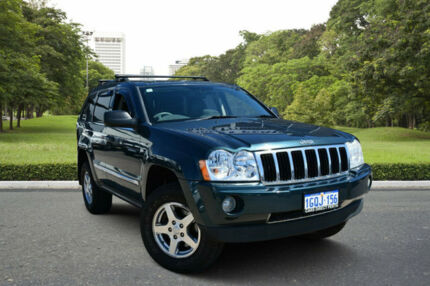 2007 Jeep Grand Cherokee WH Limited (4x4) Turquoise 5 Speed 5 SP AUTOMATIC Wagon Kewdale Belmont Area Preview