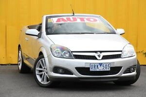 2006 Holden Astra AH MY07 Twin TOP Silver 4 Speed Automatic Convertible Heatherton Kingston Area Preview