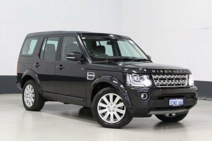 2014 Land Rover Discovery MY14 3.0 SDV6 HSE Black 8 Speed Automatic Wagon Bentley Canning Area Preview