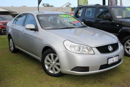 2010 Holden Epica EP MY10 CDX Silver 6 Speed Auto Seq Sportshift Sedan Pearsall Wanneroo Area Preview