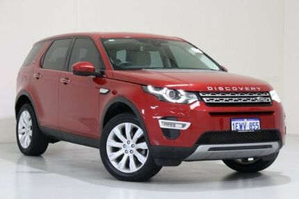 2015 Land Rover Discovery Sport LC MY16 SD4 HSE Luxury Burgundy 9 Speed Automatic Wagon Bentley Canning Area Preview