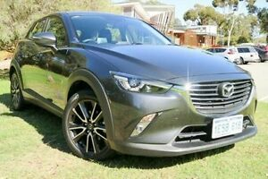 2015 Mazda CX-3 DK2W7A sTouring SKYACTIV-Drive Grey 6 Speed Sports Automatic Wagon Wilson Canning Area Preview