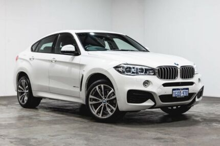2017 Bmw X6 F16 My16 Xdrive 30d Black 8 Speed Automatic Coupe Cars
