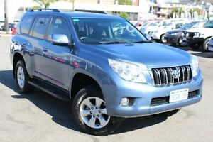 2013 Toyota Landcruiser Prado KDJ150R GXL Blue Storm 5 Speed Sports Automatic Wagon Northbridge Perth City Area Preview