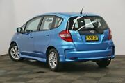 2011 Honda Jazz GE MY12 VTi Blue 5 Speed Automatic Hatchback Seven Hills Blacktown Area Preview