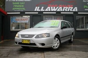 2007 Ford Falcon BF Mk II XT Silver 4 Speed Automatic Wagon Barrack Heights Shellharbour Area Preview