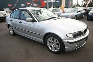 2002 BMW 318I E46 MY2002 Executive Steptronic Silver 5 Speed Sports Automatic Sedan Kingsville Maribyrnong Area Preview