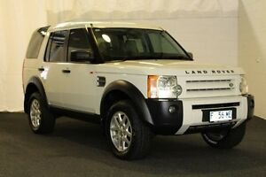 2007 Land Rover Discovery 3 MY06 Upgrade SE White 6 Speed Automatic Wagon Derwent Park Glenorchy Area Preview