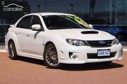 2010 Subaru Impreza G3 MY11 WRX AWD Satin White 5 Speed Manual Sedan Osborne Park Stirling Area Preview