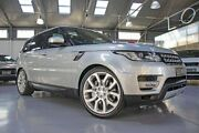 2014 Land Rover Range Rover LW Sport 3.0 SDV6 HSE Indus Silver 8 Speed Automatic Wagon Port Melbourne Port Phillip Preview
