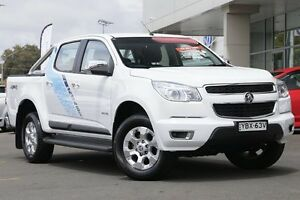 2014 Holden Colorado RG MY14 LTZ Crew Cab White 6 Speed Sports Automatic Utility Gymea Sutherland Area Preview